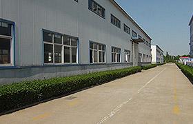 鹤壁煤化机械厂房后门