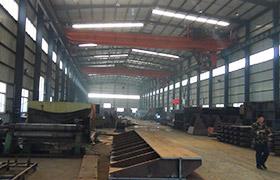 鹤壁煤化机械厂房内景