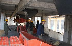 鹤壁煤化机械现场安装