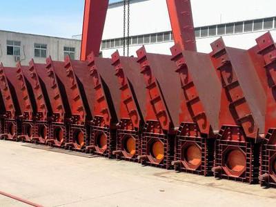 新疆天池能源64台套双质体振动给料机现场全部调试运行成功!