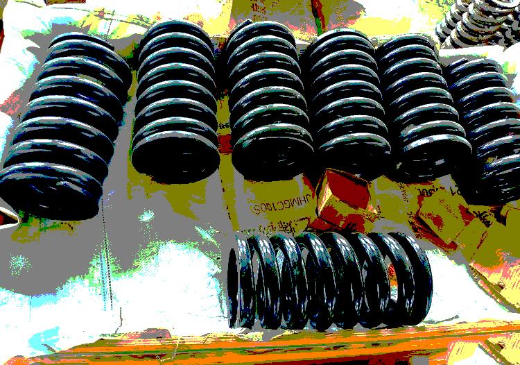 这几种弹簧你见过吗?「给料机」生产厂家告诉你他们的作用
