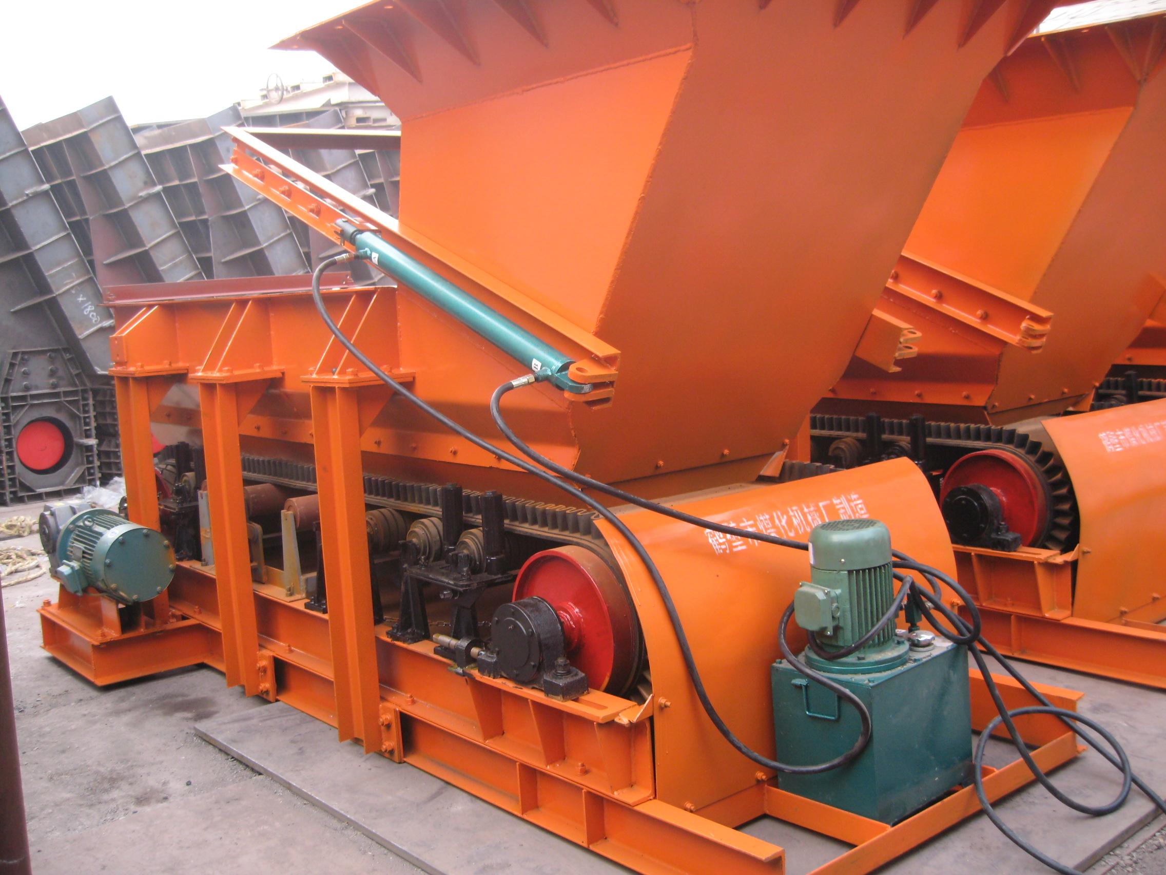 称重带式给煤机